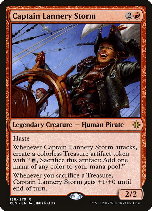 Captain Lannery Storm (XLN)