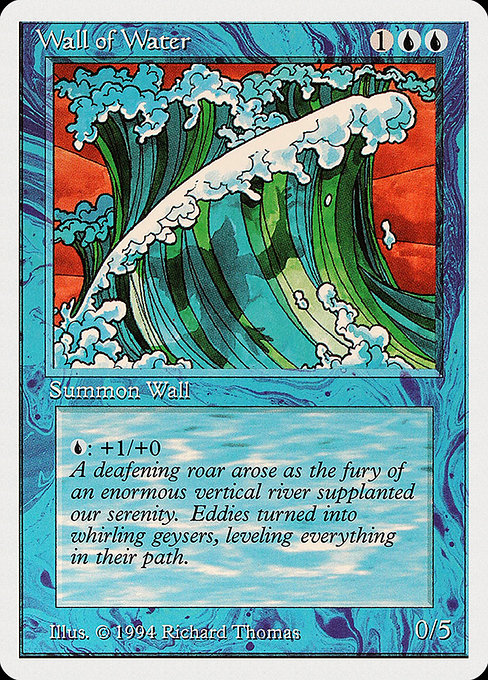 Wall of Water (SUM)