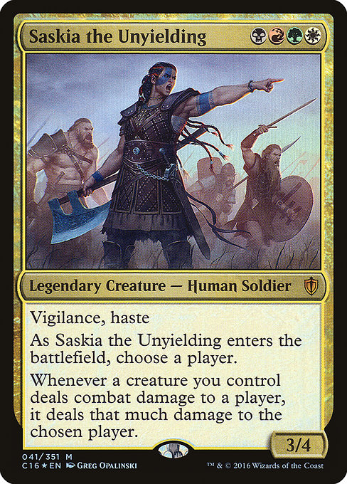 Saskia the Unyielding (C16)