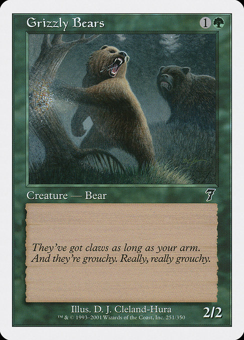 Grizzly Bears (7ED)