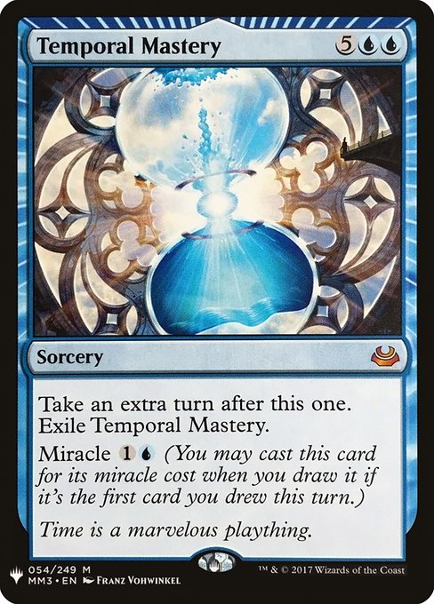 Temporal Mastery (MB1)