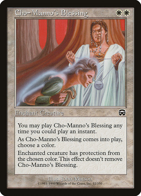Cho-Manno's Blessing (MMQ)