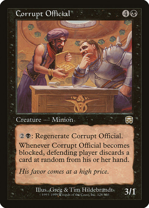 Corrupt Official (MMQ)
