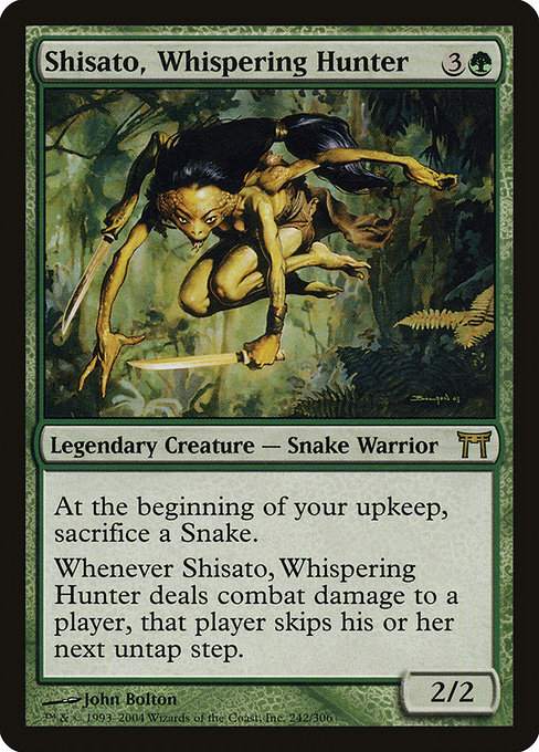 Shisato, Whispering Hunter (CHK)