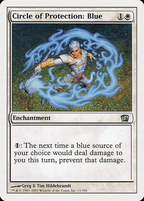 Circle of Protection: Blue (8ED)
