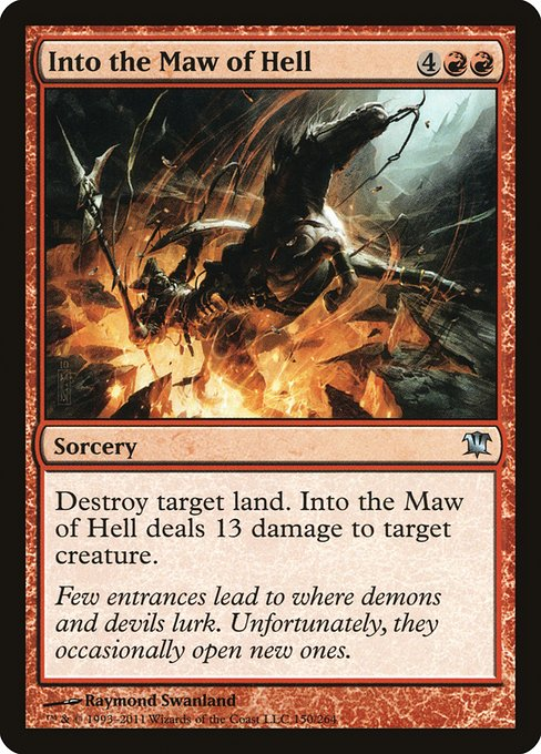 Into the Maw of Hell (ISD)