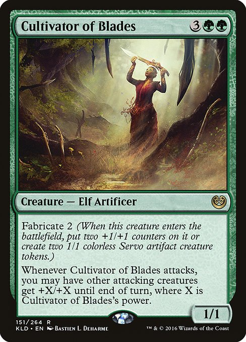 Cultivator of Blades (KLD)