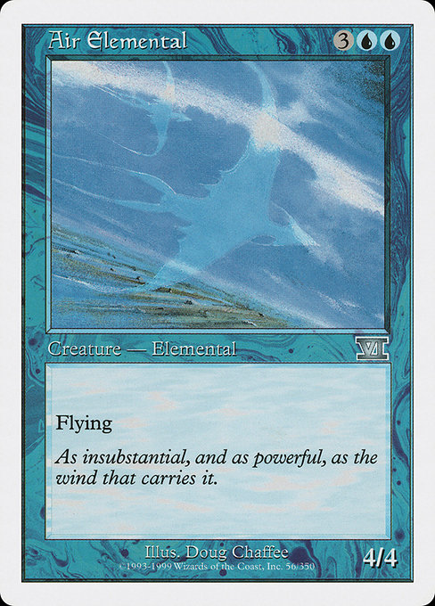 Air Elemental (6ED)