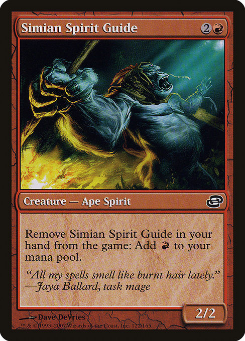 Simian Spirit Guide (PLC)