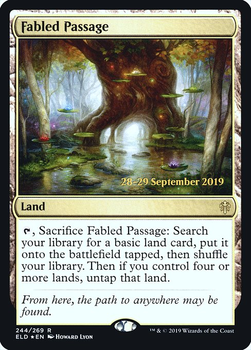 Fabled Passage (PELD)