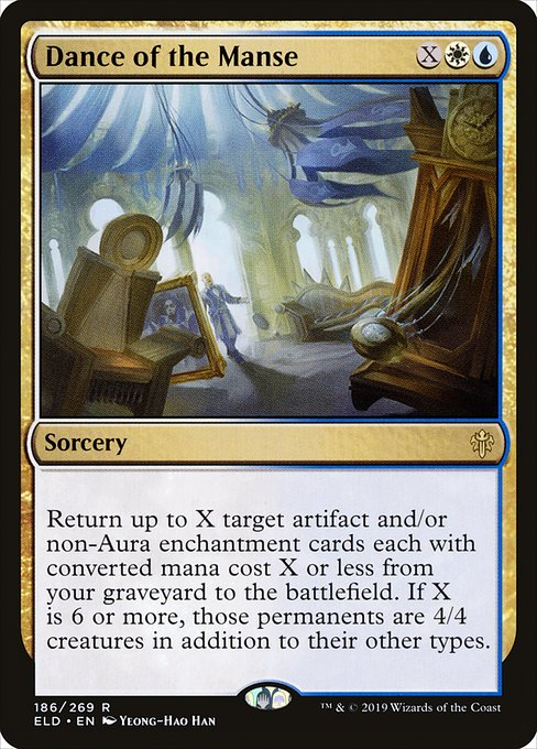 Dance of the Manse - Magic: the Gathering