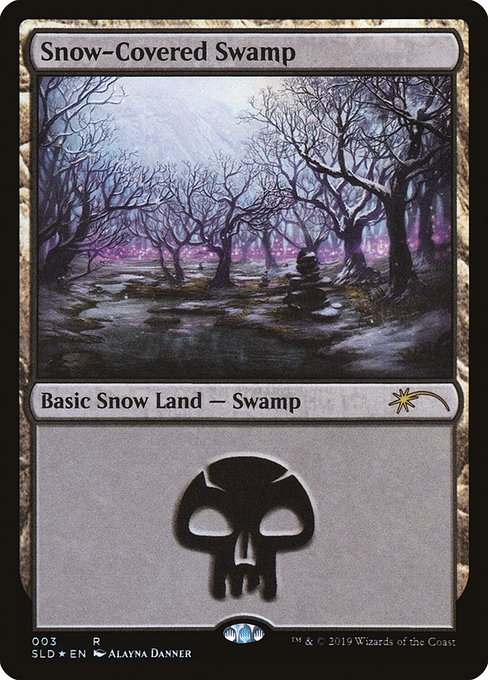 Snow-Covered Swamp (SLD)