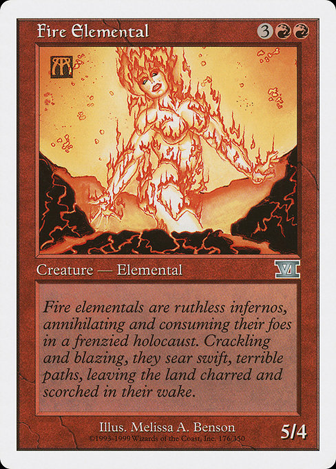 Fire Elemental (6ED)