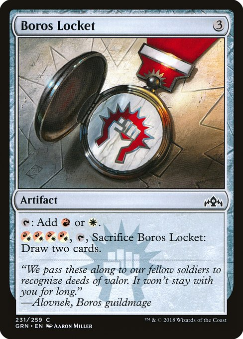 Boros Locket (GRN)