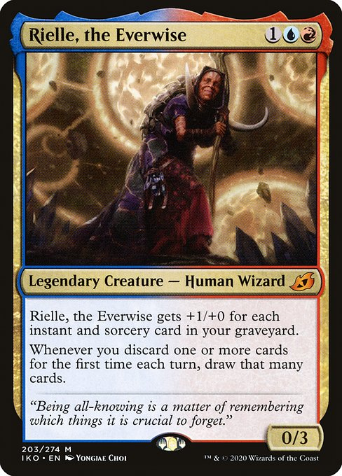 Rielle, the Everwise (IKO)
