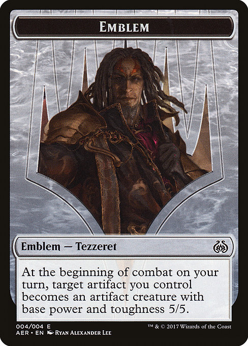 Tezzeret the Schemer Emblem (TAER)