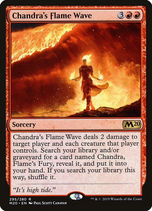 Chandra's Flame Wave (M20)