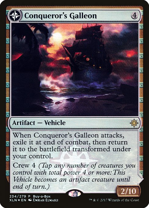 Conqueror's Galleon // Conqueror's Foothold (PXTC)