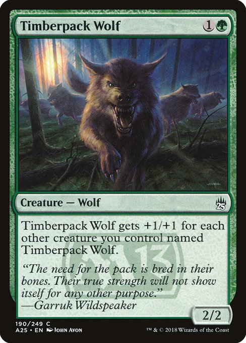 Timberpack Wolf (A25)