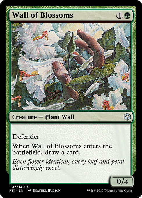 Wall of Blossoms (PZ1)