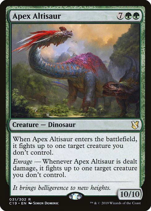 Apex Altisaur (C19)