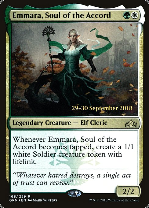 Emmara, Soul of the Accord (PGRN)