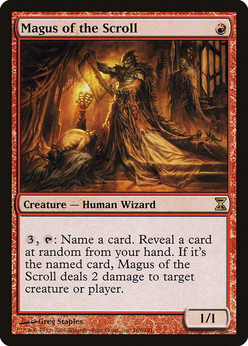 Magus of the Scroll (TSP)