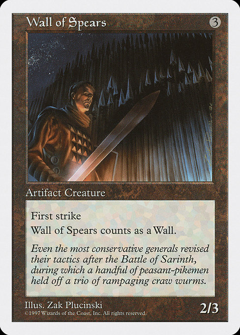 Wall of Spears (5ED)