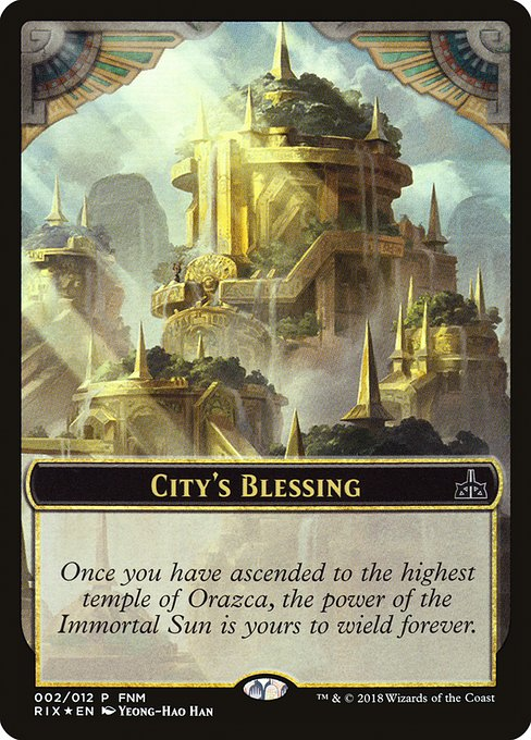 City's Blessing // Elemental (F18)