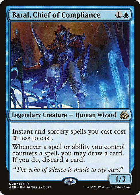 Baral, Chief of Compliance (AER)