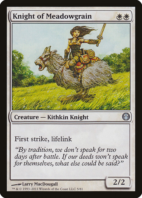 Knight of Meadowgrain (DDG)