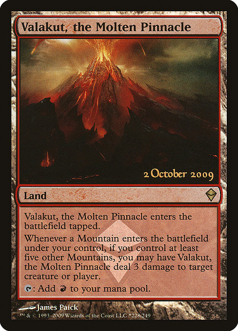 Valakut, the Molten Pinnacle (PZEN)