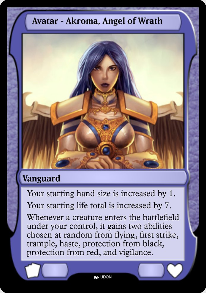 Akroma, Angel of Wrath Avatar (PMOA)