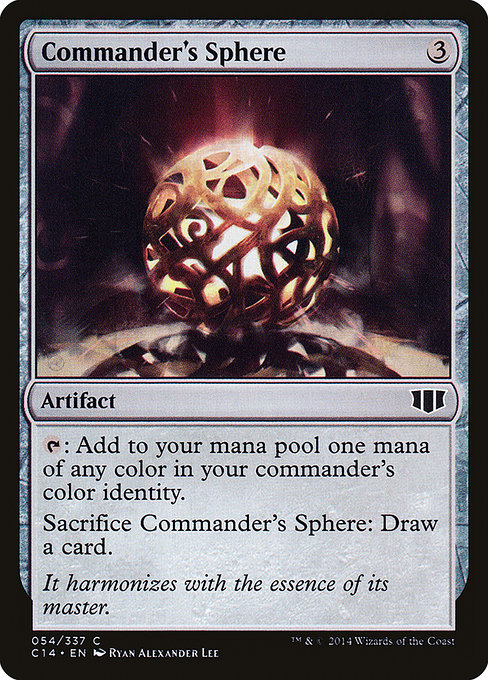 Commander's Sphere (C14)