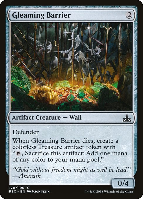 Gleaming Barrier (RIX)