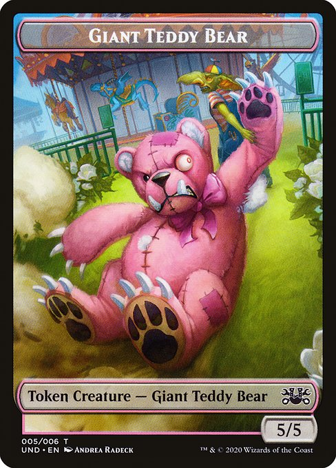 Giant Teddy Bear (TUND)