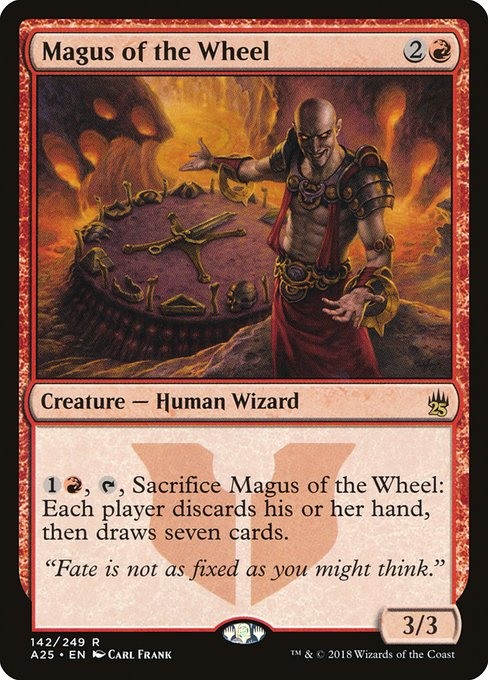 Magus of the Wheel (A25)