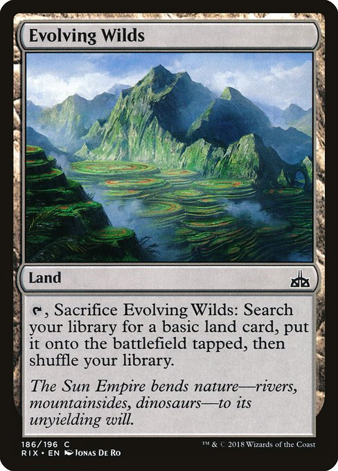 Evolving Wilds (RIX)