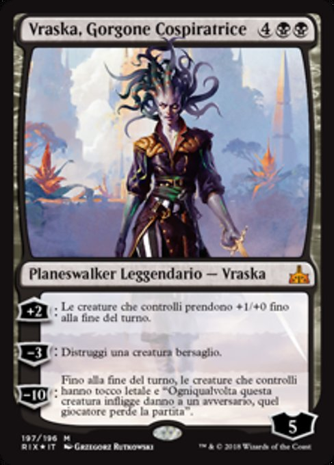 Vraska, Scheming Gorgon (RIX)