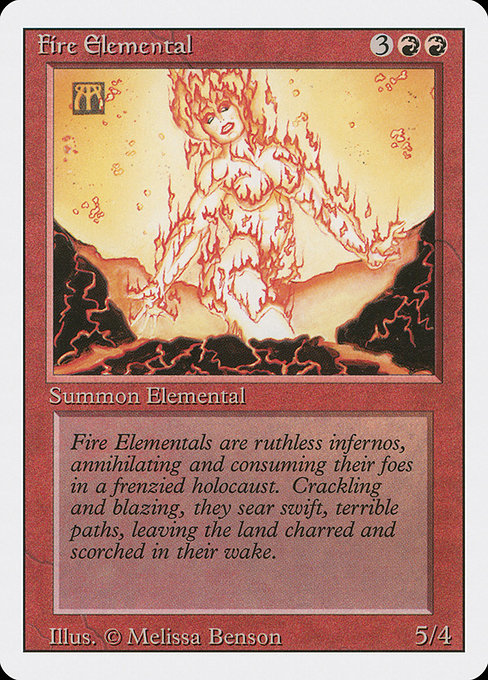 Fire Elemental (3ED)
