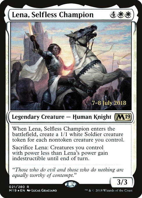 Lena, Selfless Champion (PM19)