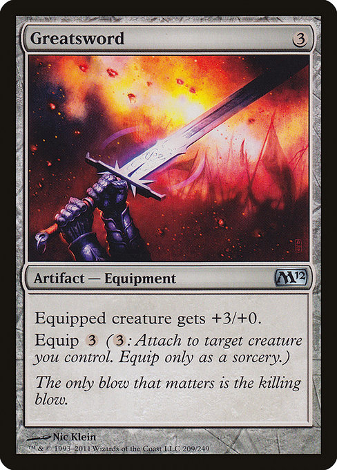 Greatsword (M12)