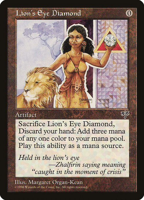 Lion's Eye Diamond (MIR)