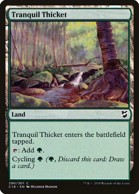 Tranquil Thicket (C18)