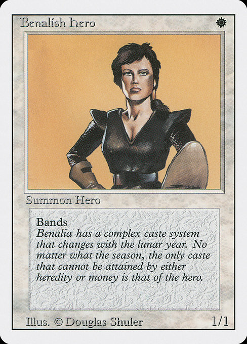 Benalish Hero (3ED)