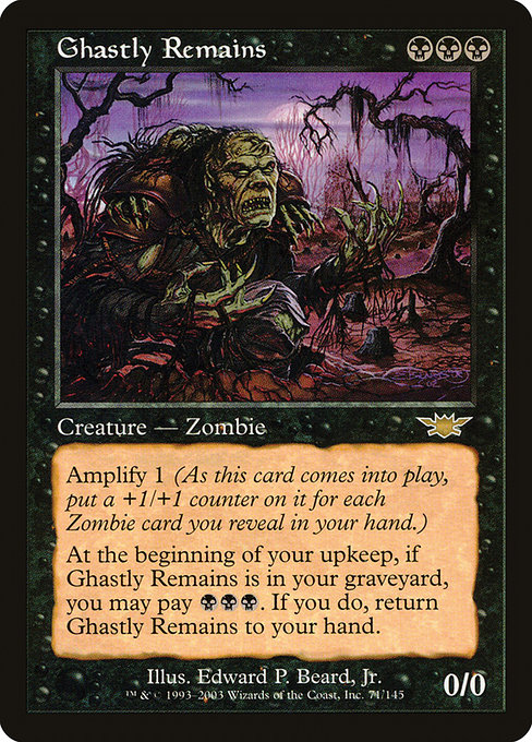 Ghastly Remains (LGN)