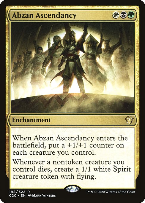 Abzan Ascendancy (C20)