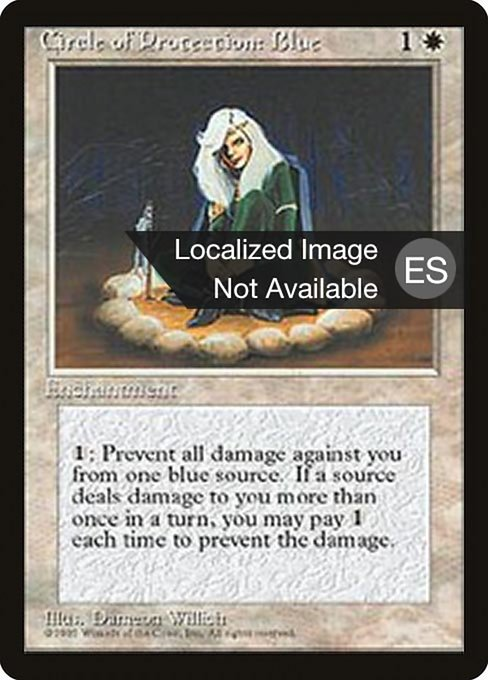 Circle of Protection: Blue (4BB)