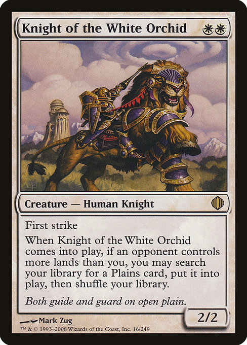 Knight of the White Orchid (ALA)