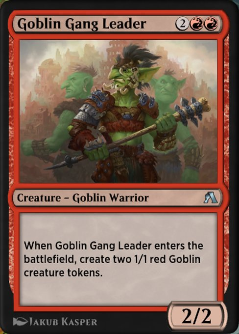 Goblin Gang Leader (ANA)